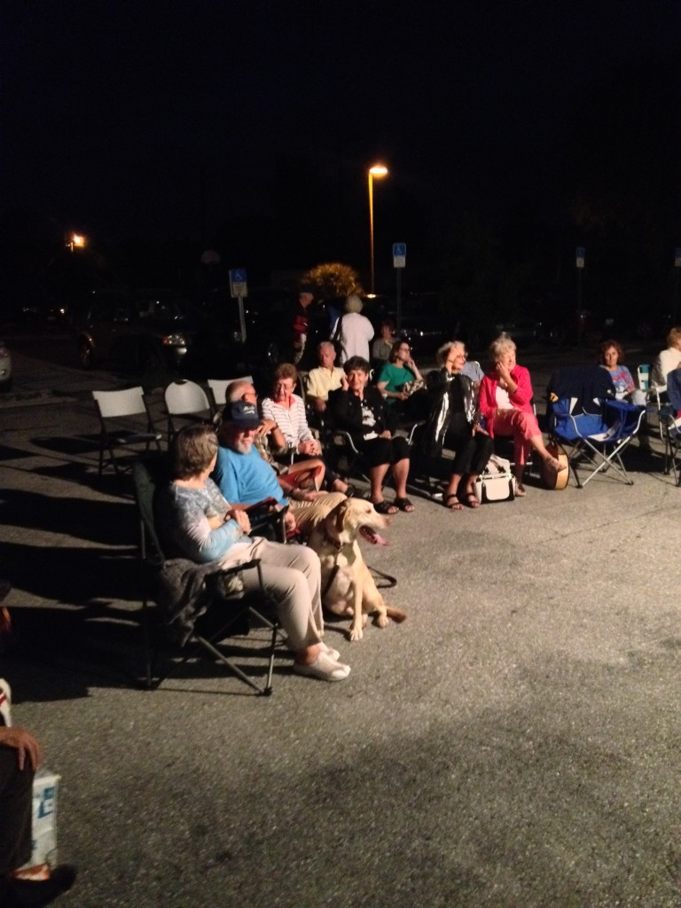 Concert in the PARK-ing LOT 11.15.15
