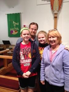 1.23.16 Ryberg Family New Members