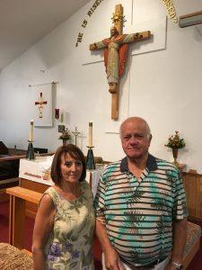 New members 11.5.16 Arnie & Denise Bischer