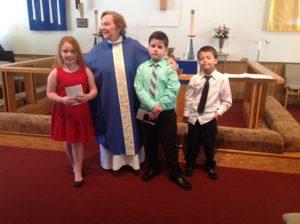 12.3.17 First Communion - Lilyin, Aidan & Tyler