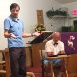 3.15.18 Hope Players Pastor Hans & Star Pupil Ralph